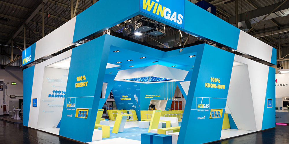 Wingas Messestand